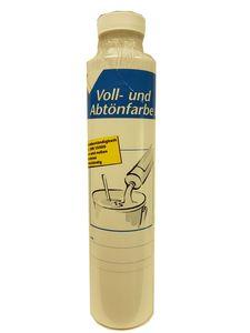 2x750 ml Wilckens Voll-und Abtönfarbe matt 1,5 Liter Farbwahl, Wilckens:weiss