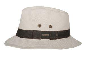 Hatland - UV-Fedora-Hut für Herren - Okaton - Pastellweiß