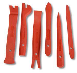 Kfz Zierleistenkeile-Set, verschiedene Formen, 6-teilig