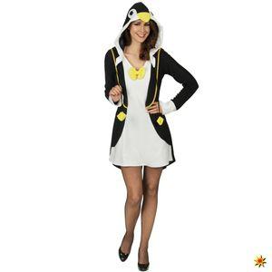 Damen Kostüm Pinguin Annabell , Größe:44 / 46