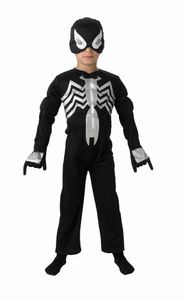 RUBIE'S Black Spiderman Child EVA, Größe S