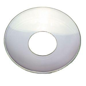 TrendLight - Tropfenfänger für Kerzen 10 Stück aus Glas klar 25 mm Innendurchmesser