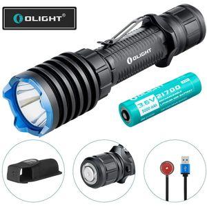 OLIGHT Warrior X Pro LED Taschenlampe schwarz Polizei Swat 2100 Lumen