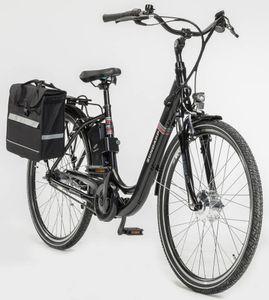 Zündapp Alu-City-E-Bike Green 3.0, 26er, inkl. Zweitakku und Gepäcktasche
