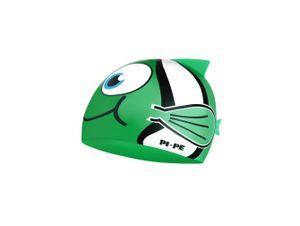 PI-PE Kinderbadekappe Fishy Active grün