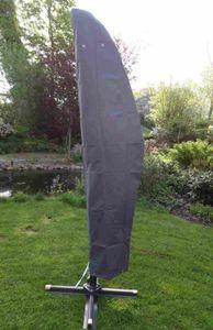 Schutzhülle aus hochwertigem Gewebematerial Abdeckhaube für Ampelschirm Sonnenschirm