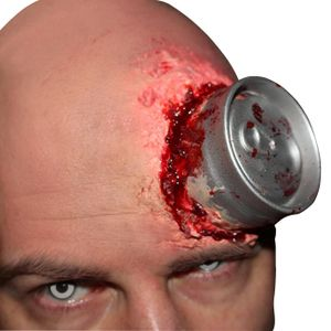anwendungsset Erfrischungsgetränkedose Latex rot
