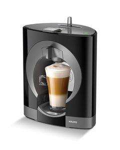 Krups YY2290FD Kaffeemaschinenkapseln Nescafe Dolce Gusto Oblo Schwarz Manuell Professionelle Qualität Druck 15 bar Große Auswahl an heißen und kalten Getränken