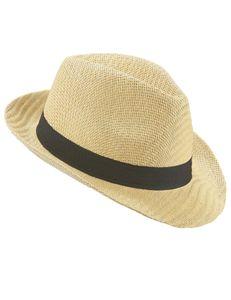 Trilby Hut Sommer für Erwachsene mit schwarzem Band