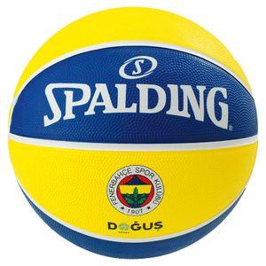 SPALDING Euroleague Teamball Fenerbahce Istanbul Gr.7 gelb/blau