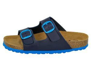 LICO Bioline kids Pantolette, blau, 27, 560230