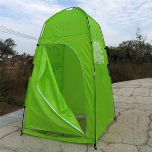 Sunnyme Pop up Toilettenzelt Umkleidezelt Camping Duschzelt Outdoor Mobile Toilette Umkleidekabine Lagerzelt Grün