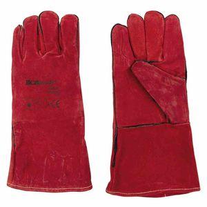 Ironwear 225-017 Schweißer-Handschuh 14 350mm Lang, rot (1 Paar)