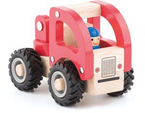 kleines Holzauto, Feuerwehr, Auto, Holzspielzeug von Woodyland
