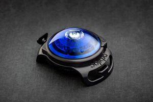 Orbiloc Dog Dual Leuchtclip blau