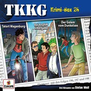 TKKG - Krimi-Box 26 (Folgen 196,197,198) - CD