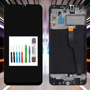 Samsung Display für Galaxy A10 2019 SM-A105F LCD Bildschirm TouchScreen Schwarz +RAHMEN