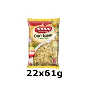 GroßhandelPL Amino Gurke Instant Suppe Nudle 22x61g