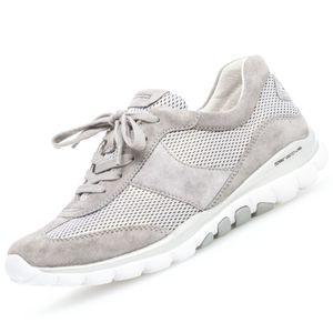 GABOR Rollingsoft Damen Sneaker Grau, Schuhgröße:EUR 38