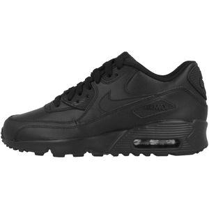 Nike Air Max 90 Leather (GS) Kinder Schwarz (833412 001) Größe: 38.5