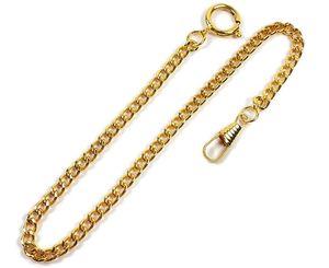 Minott Taschenuhrkette Gliederkette Metall vergoldet RE-22032