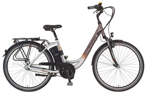 Prophete E-Bike Navigator Pro Damen Alu City Elektro Fahrrad 2x 36V/10,4Ah