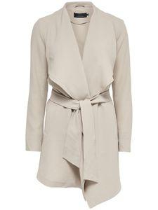 Only Damen Mantel onlRuna Spring Coat 15111923 beige, Größe:M