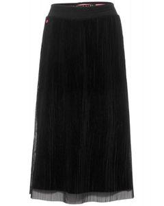 Street One Midi mesh skirt soli 10001 Black 40