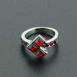 Fingerring Hochwertige Retro Geschenke Verlobung Rubin
