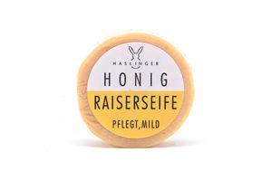 Haslinger Honig Rasierseife für sensible Haut beruhigend milde Pflanzenöle 60 g