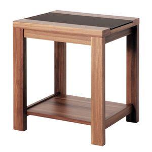 Haku Beistelltisch, nußbaum - Maße: 42 cm x 40 cm x 50 cm; 42615