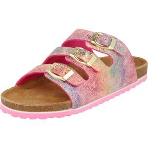 indigo Bio Kinder Damen Pantolette Sandalen Hausschuhe rot 474414000/537 : 36