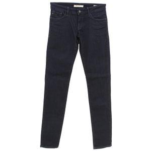 mavi Lindy Skinny-Jeans praktische Damen Low Rise Hose Dunkelblau, Größe:W25/L32