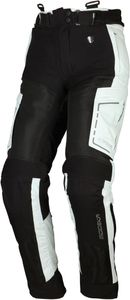 Modeka Khao Air Damen Motorrad Textilhose Farben: Schwarz/Hellgrau, Grösse: 46