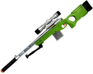 GYD Sniper SCHARFSCHÜTZENGEWEHR Elite mit Sound Licht AWP Grün