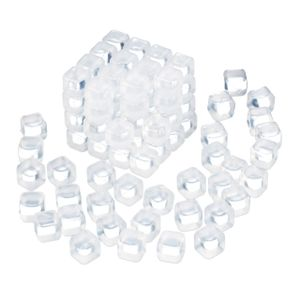 relaxdays Wiederverwendbare Eiswürfel 100er Set