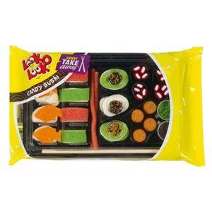 Look-O-Look Candy Sushi, leckere Sushibox aus Fruchtgummi Marshmallow