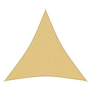 sunprotect 12015 Professional Sonnensegel, 3 x 3 x 3 m, Dreieck, wind- & wasserdurchlässig, beige
