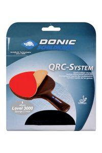 Donic-Schildkröt Tischtennis Ersatzbelag QRC Level 3000, für blitzschnellen Belagwechsel, 2,1 mm Schwamm, Energy - ITTF Belag