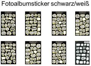 Original Fotosticker Fotoalbum Foto Sticker XXL Set - 270 Teile