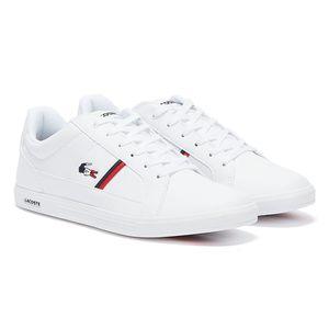 Lacoste Herren Sneaker Sneaker Low Synthetik weiß 43
