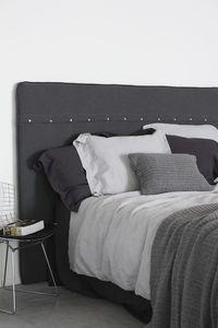 Passion for Linen | Luxus Bettbezug Remy | Leinen und Perkal Baumwolle, Größe:135-200 cm, Farbe:Mud