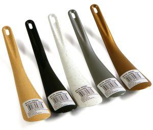 1 x Schuhanzieher Schuhlöffel 19cm, 1 aus 5 Farben, aus Kunststoff