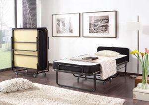 Raumsparbett Gästebett - Sleepers 5 - Komplettset Schwarz 90 x 200 cm