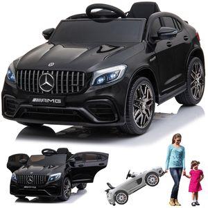 Mercedes-Benz GLC 63S AMG Coupe Kinderauto Kinderfahrzeug Kinder Elektroauto Schwarz