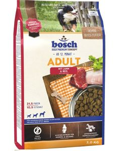 Bosch ADULT MIT LAMM & REIS, Adult, Lamm, Reis, 3 kg