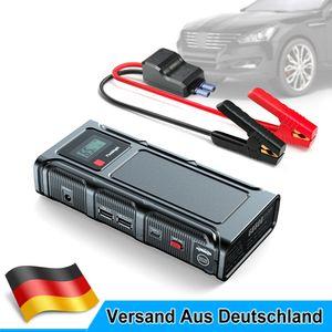18000mAh 500A Auto Starthilfe Jump Starter KFZ Power Bank Ladegerät Booster 12V
