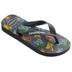 Havaianas Jungen Flipflops in der Farbe Grau - Größe 33-34