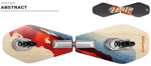 "Street Surfing Wooden Waveboard WAVE RIDER - ""Abstract"""
