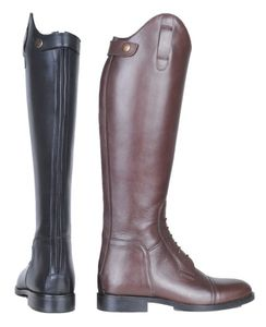 Reitstiefel -Spain-, Softleder, lang/schmale Weite, Farbe:schwarz, Groesse:38